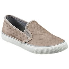 Sperry Seaside Emboss Weave Slip-On Shoes for Ladies