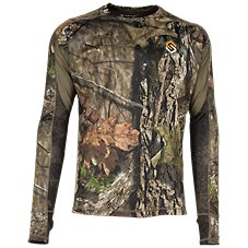 Scent-Lok Baseslayers AMP Lightweight Top for Men