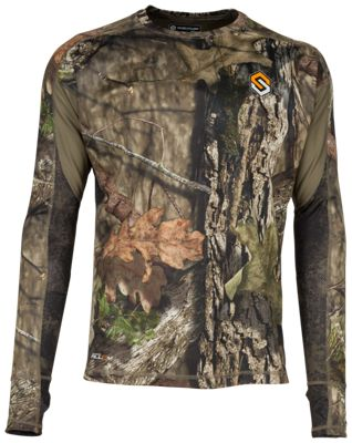 Scent-Lok Baseslayers AMP Lightweight Top for Men - Mossy Oak Break-Up Country - 3XL