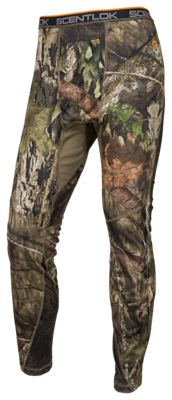 Scent-Lok Baseslayers AMP Lightweight Bottoms for Men – Mossy Oak Break-Up Country – XL
