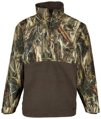 Cabela's Northern Flight Mid-Season Quarter-Zip Jacket for Men – TrueTimber DRT – S