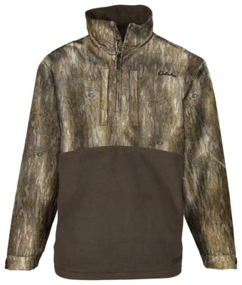 d1b72cfc825 Cabelas Northern Flight Mid Season Quarter Zip Jacket for Men Mossy ...