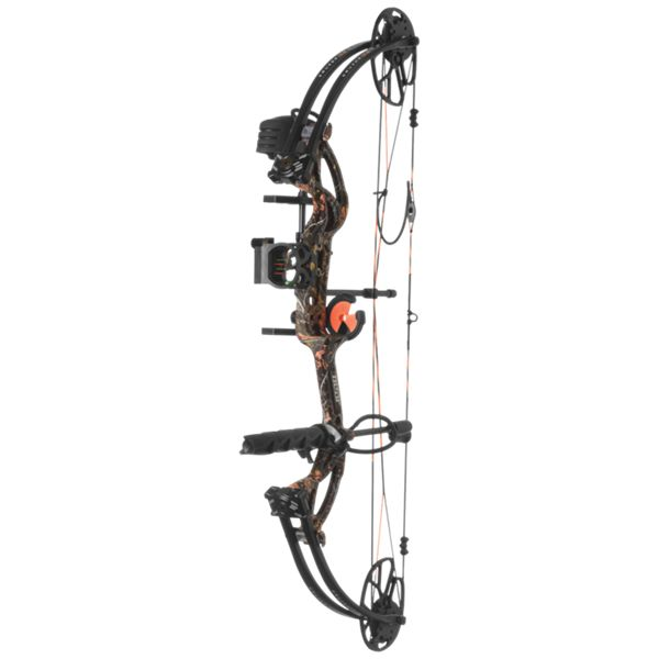 Bear Archery Cruzer G2 RTH Compound Bow Package - Right Hand - Wildfire Camo thumbnail