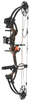 Bear Archery Cruzer G2 RTH Compound Bow Package – Left Hand – 5-70 lbs. – Wildfire Camo