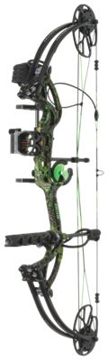 Bear Archery Cruzer G2 RTH Compound Bow Package - Right Hand - 5-70 lbs. - Toxic Camo thumbnail