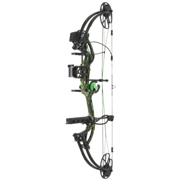 Bear Archery Cruzer G2 RTH Compound Bow Package - Right Hand - Toxic Camo thumbnail