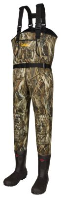 Cabela's Classic Series II Neoprene Boot-Foot Waders for Men – TrueTimber DRT – 14Regular