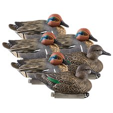 Cabela's Northern Flight F.L.D. Green Wing Teal Duck Decoys