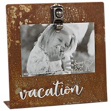 Sweet Bird & Co. Vacation Bent Metal Clip Frame