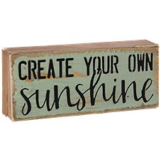 Sweet Bird & Co. Create Your Own Sunshine Tiny Tweet Wood Sign