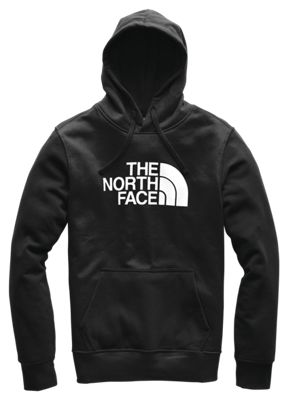 The North Face Half Dome Pullover Long Sleeve Hoodie For Men Tnf Black/tnf White L