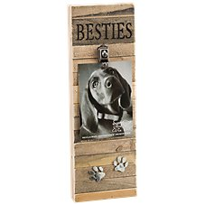 Sweet Bird & Co. Besties Reclaimed Wood Clip Frame