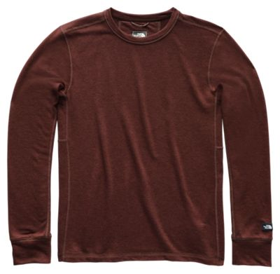 5df6387f6 The North Face TNF Terry Crew Shirt for Men Sequoia Red Heather S