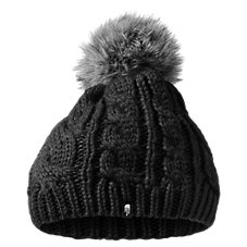 The North Face Oh-Mega Fur Pom Beanie for Kids