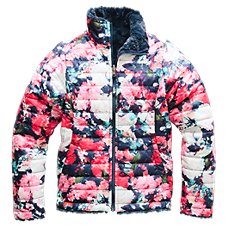 The North Face Reversible Mossbud Swirl Jacket for Girls