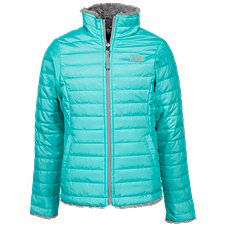 The North Face Reversible Mossbud Swirl Jacket for Girls Image