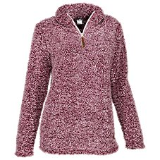 Bass Pro Shops 1/4-Zip Sherpa Pullover for Ladies