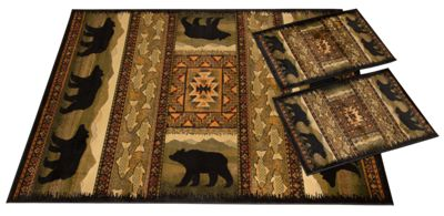 United Weavers Of America Lodge 3 Piece Rug Set Bass Pro Shops