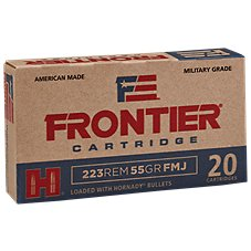 Frontier Cartridge Centerfire Rifle Ammo