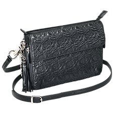 Gun Tote'n Mamas Embroidered Lambskin Concealed Carry Handbag