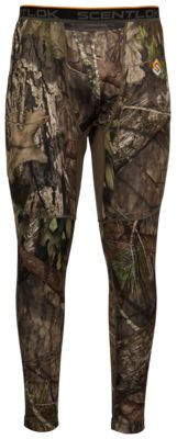 Scent-Lok Baseslayers AMP Midweight Bottoms for Men - Mossy Oak Break-Up Country - 2XL
