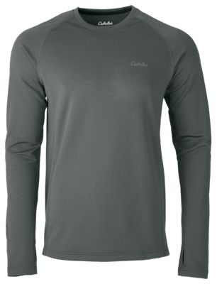 New Cabela S E C W C S Midweight Base Layer Crew For Men