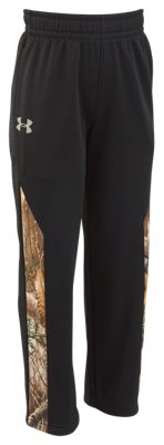 Under Armour Elevation Pants for Kids – Black/Realtree Xtra – 5