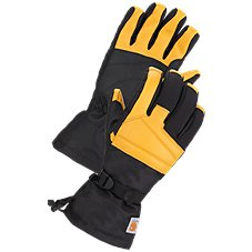 Carhartt Cold Snap Insulated Waterproof Work Gloves for Men