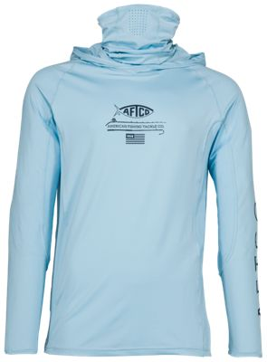 91efcab4c AFTCO Barracuda Geo Cool Hooded Performance Shirt for Men | Bass Pro ...