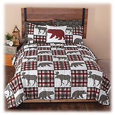 White River Alaskan Wildlife Collection Complete Bed Set Image