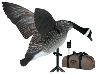Lucky Duck Super Goose Flapper HDi Motorized Goose Decoy with Remote