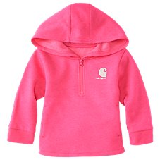 Carhartt Heather Fleece Hooded Sweatshirt for Toddlers or Girls