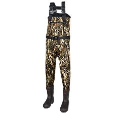 SHE Outdoor Classic Series II Neoprene Insulated Boot-Foot Waders for Ladies