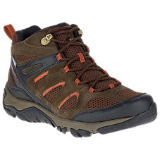 Merrell Outmost Mid Waterproof Hiking Boots for Men