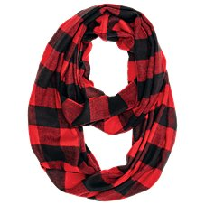 Quagga Flannel Infinity Scarf for Ladies