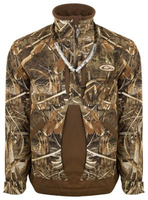 Drake Waterfowl Guardian Flex 1/4-Zip Jacket for Men – Realtree Max-5 – 2XL