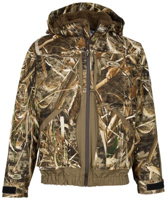 Drake Waterfowl Guardian Elite Boat and Blind Jacket for Men – Realtree Max-5 – S