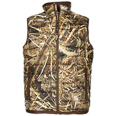 Drake Waterfowl Camo Double Down Layering Vest for Men