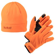 RedHead Fleece Gloves and Beanie Combo for Men Image