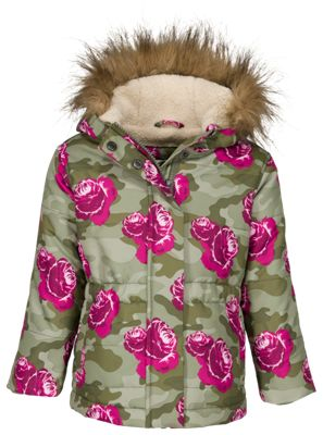 Bass Pro Shops Utility Coat for Kids – Rose Camo – 14-16