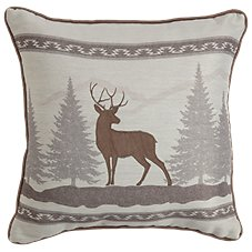 Bob Timberlake Sedona Bedding Collection Buck Applique Throw Pillow