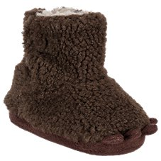 Outdoor Kids Bear Paw Booties for Babies. White  Brown a68845380