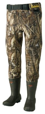 Cabela's Classic 3.5mm Waist High Hunting Waders for Men – TrueTimber DRT – 11/Regular