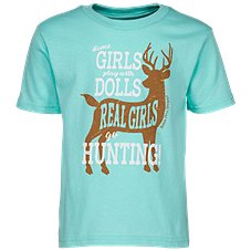 Bass Pro Shops Real Girls Hunt T-Shirt for Toddlers