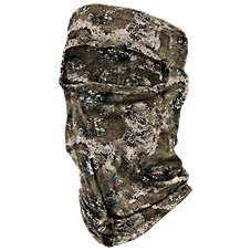 RedHead Form Fit Spandex Scent Control Camo 3/4 Face Mask Image