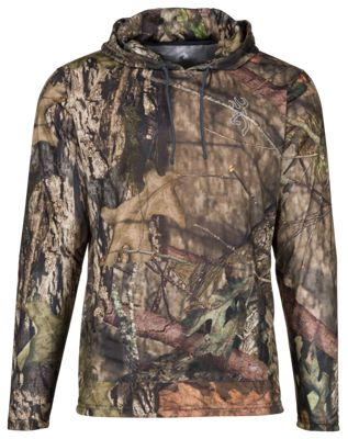 Browning Hipster-VS Hooded Tee for Men - Mossy Oak Break-Up Country - M