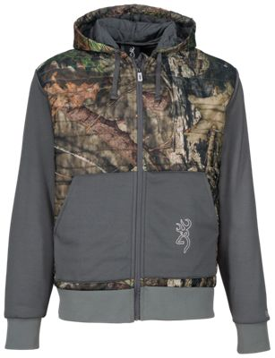 Browning Contact-VS Hoodie for Men - Mossy Oak Break-Up Country/Gray - XL