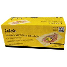 Cabela's Commercial Grade Vacuum Sealer Bag Rolls with Bag Cutter