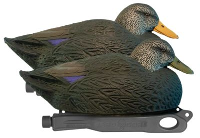 Hard Core Decoys Rugged Series Magnum Black Duck Decoys