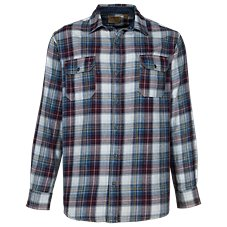 RedHead Ranch Washed Plaid Shirt for Men
